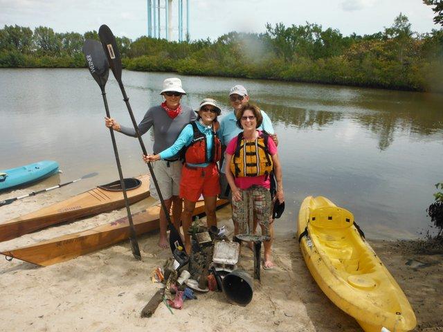 Volunteers complete waterway trail cleanup